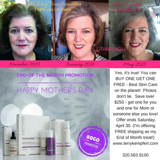 Best Skin Care Package on the Planet is BOGO! (Buy one, get one free)
